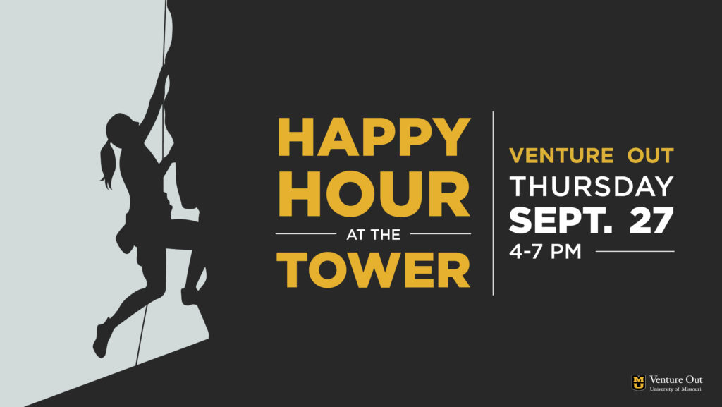Happy Hour at the Tower, Thursday, September 27 from 4-7 PM