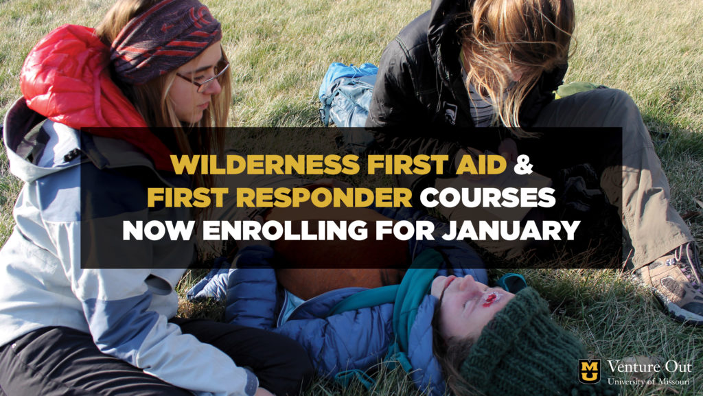 Wilderness First Aid and Wilderness First Responder courses now enrolling for January 2019